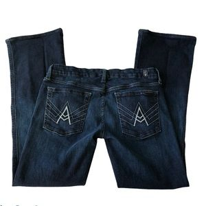 7FAM A Pocket Dark Wash Classic Jeans Size 31